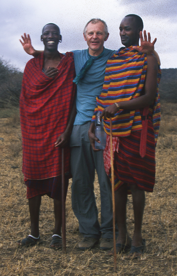 Me and my Maasai warrior guides